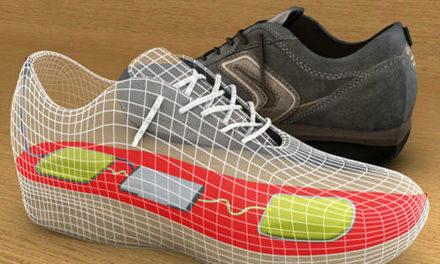 Zapatos que generan energía eléctrica al caminar