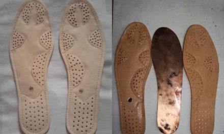 Innovadora plantilla de cobre, trae beneficios para la salud
