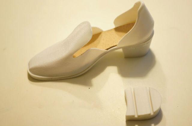 Crean zapato 3d con tacón intercambiable