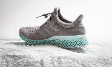 Zapatillas con suela 3D y material reciclado del océano
