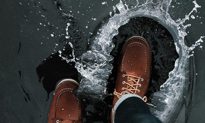 Nueva solución Ecológica para hacer el calzado repelente al agua
