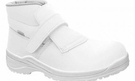 Tratamiento antibacteriano para calzado de seguridad
