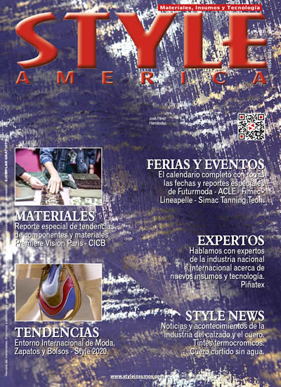 Revista Style America Materiales, Tendencias edición 22