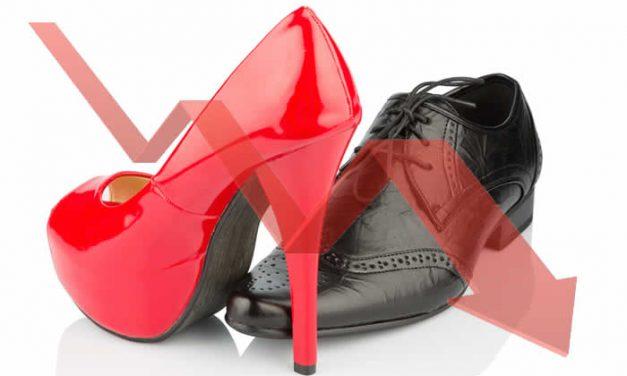 Consumo mundial de calzado en 2020 disminuiría 22% por pandemia