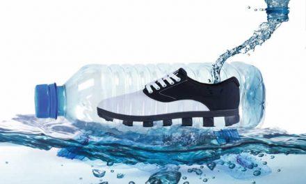 Plástico de los océanos se convierte en materiales de zapatos